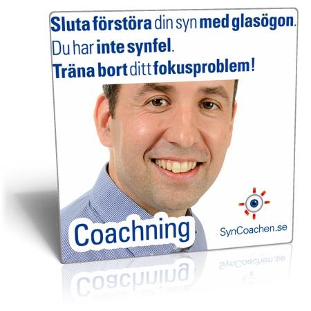 Personlig Coachning Tony Helinsky-metoden för bättre syn utan glasögon och linser genom ...