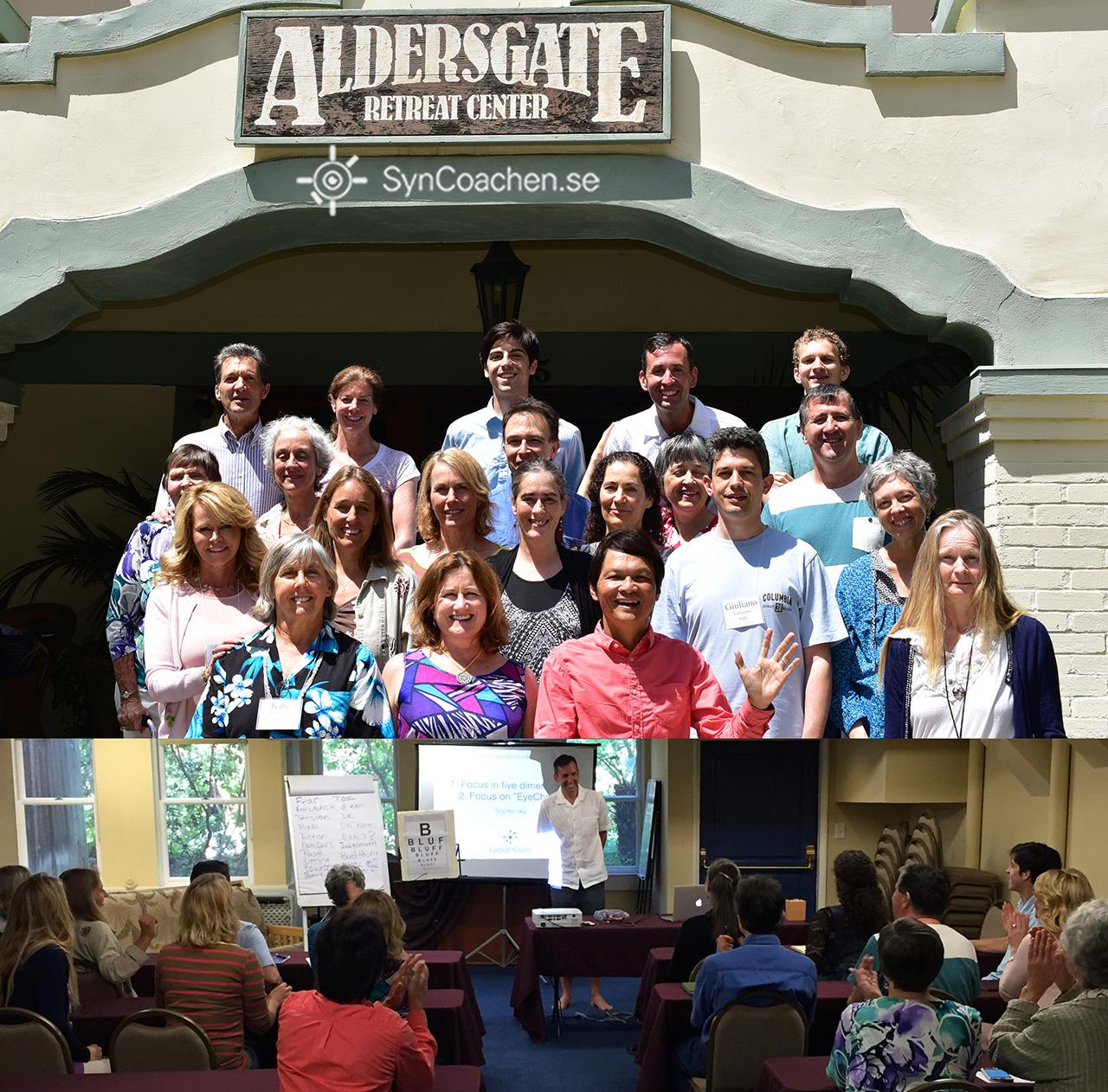 Med nya idéer med kollegor på synkonferens för proffs i soliga Kalifornien
